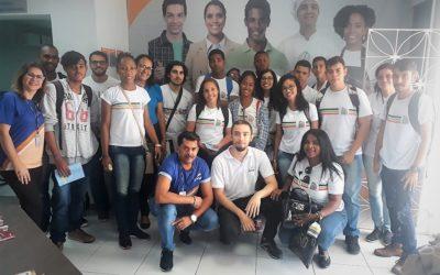 Jovens Aprendizes da PAMA visitaram a Feira de Profissões do SENAC nesta quarta-feira.